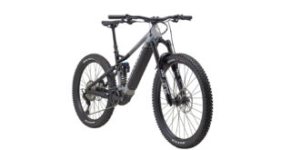 Front 3/4 image of the Marin Alpine Trail E2 mountain bike