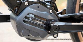 Shimano STEPs E6100 drive unit.