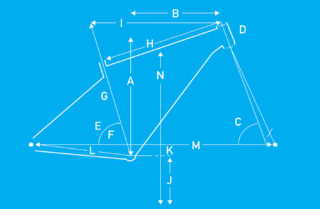 Bobcat Trail 9.5 geometry diagram