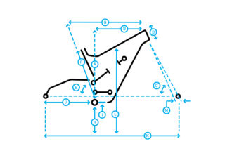 Mount Vision 8 geometry diagram