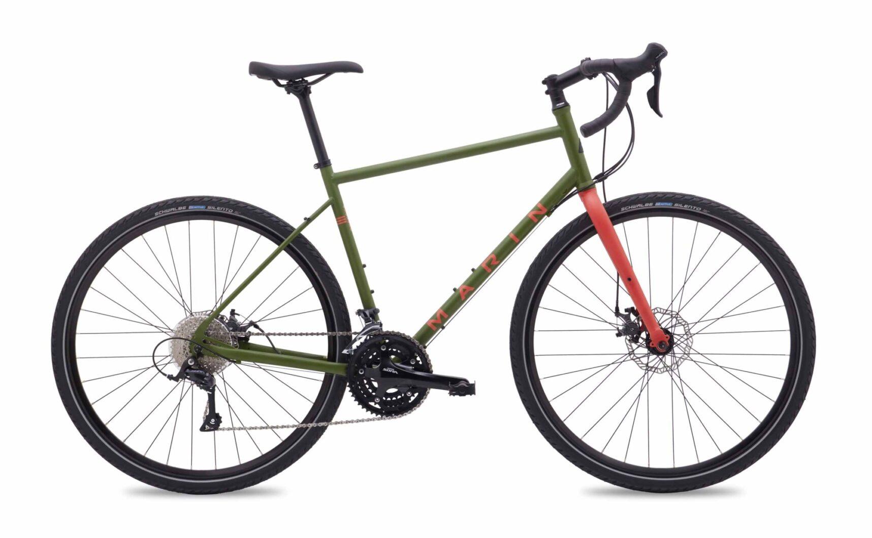 2018 Marin San Rafael DS-E profile.