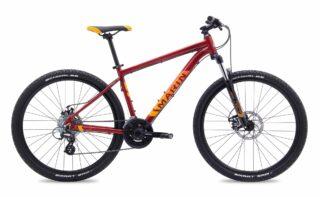 2017 Marin Bolinas Ridge 2 profile, red.