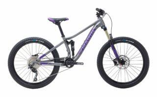 2018 Marin Hawk Hill Jr profile, silver/purple.