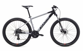 2019 Marin Bobcat Trail 3 27.5 profile, black/silver.