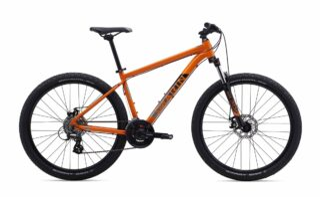 2019 Marin Bolinas Ridge 2 profile, orange.