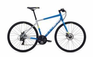 2019 Marin Fairfax 1 profile, blue/silver.