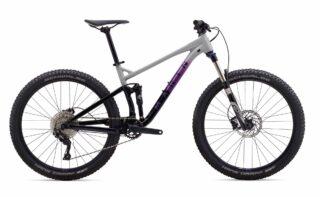 2019 Marin Hawk Hill 1 profile, grey/purple/black.