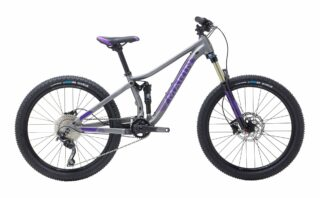 2019 Marin Hawk Hill Jr profile, silver/purple.