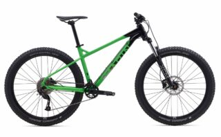 2019 Marin San Quentin 1 profile, black/green.