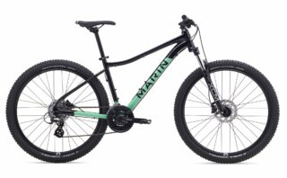 2019 Marin Wildcat Trail 3 profile, black.