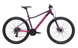 2019 Marin Wildcat Trail 3 profile, purple.