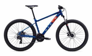 2020 Marin Bolinas Ridge 1 profile, blue.