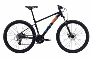 2020 Marin Bolinas Ridge 2 profile, black/orange.