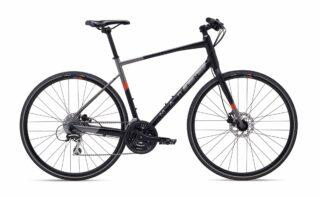 2020 Marin Fairfax 2 profile, black/silver.