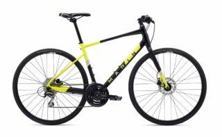2020 Marin Fairfax 2 profile, black/yellow.