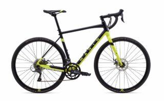 2020 Marin Gestalt profile, black/yellow.