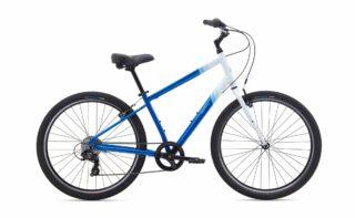 2020 Marin Stinson 7 profile, white/blue.