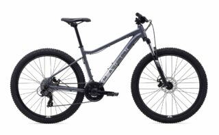 2020 Marin Wildcat Trail 1 profile, charcoal.