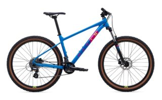 2021 Marin Bobcat Trail 3 profile, blue.