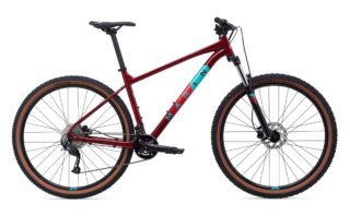 2021 Marin Bobcat Trail 4 profile, maroon.
