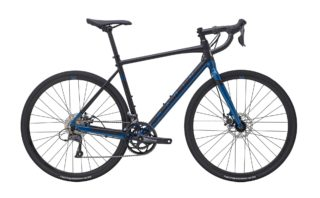 2021 Marin Gestalt profile, black/blue.