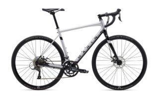 2021 Marin Gestalt profile, silver/black.