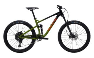 2021 Marin Rift Zone 27.5 1 profile, black/green.
