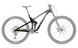 2021 Marin Rift Zone 29 Carbon 2 frame kit profile.