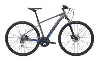 2021 Marin San Rafael DS2 profile.