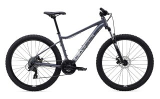 2021 Marin Wildcat Trail 1 profile, charcoal.