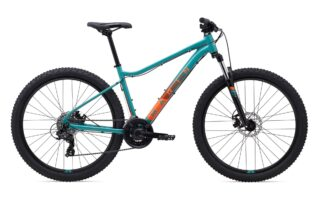 2021 Marin Wildcat Trail 1 profile, teal.
