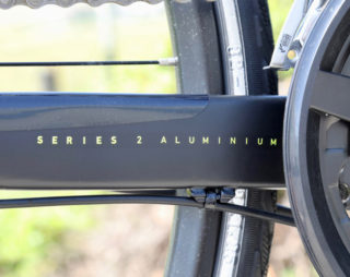 Marin Fairfax chainstay Series 2 aluminum decal