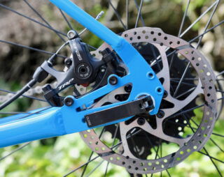 Four Corners rear dropout and brake mount