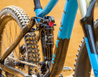 Rift Zone Jr frame and rear shock