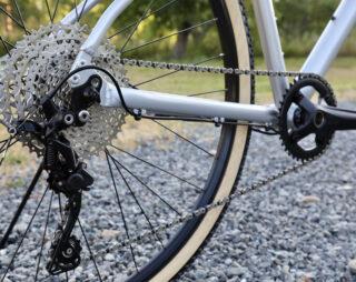 Marin Kentfield bike drivetrain