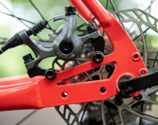 Nicasio 1 dropout and disc brake mount
