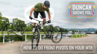 Duncan Shows you How to front pivot