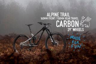 Marin Alpine Trail Carbon 2 video title screen.