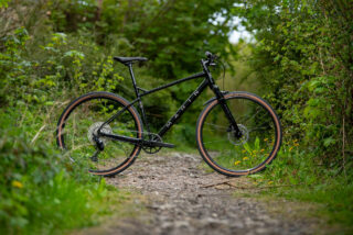Black Marin DSX Gravel Beyond Road Bike