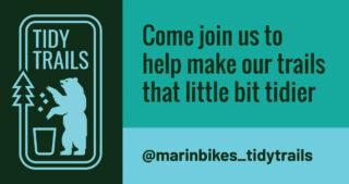 Marin Bikes Tidy Trails Graphic