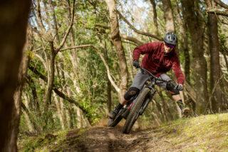 Marin's Matt Cipes mountain biking.