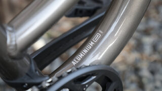 Marin Series 1 aluminum tubing decal.