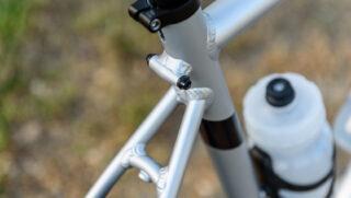 Marin Series 2 aluminum aluminum rack mount detail.
