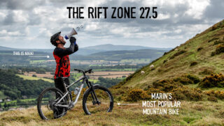 Marin rider Nikki Whiles tells the world about the Marin Rift Zone 27.5 model.
