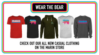 Marin web store apparel promo link.