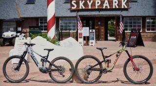 Main Alpine Trail E2 and Alpine Trail XR bikes