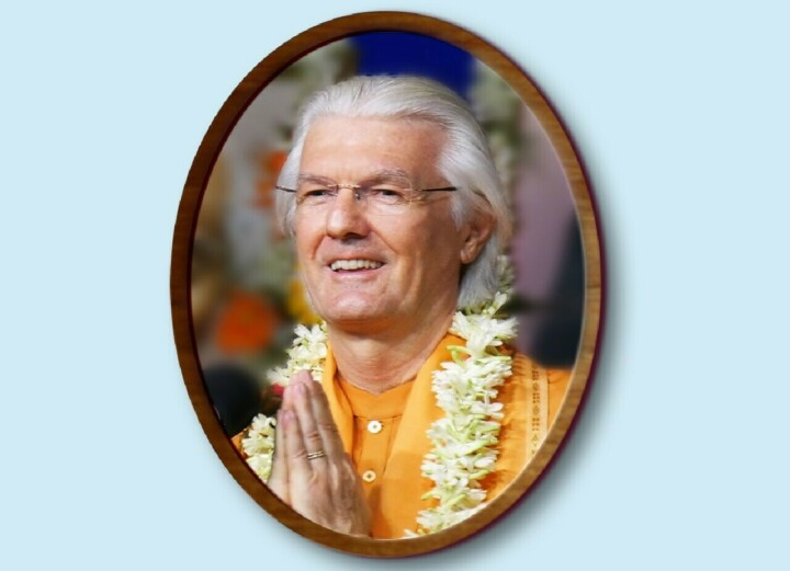 Brother Chidananda In the Embrace of the Divine Mother