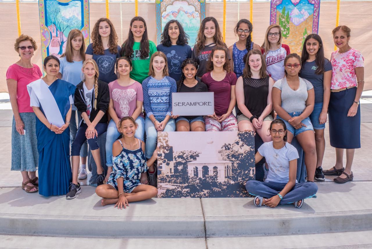 2017 Girls Serampore