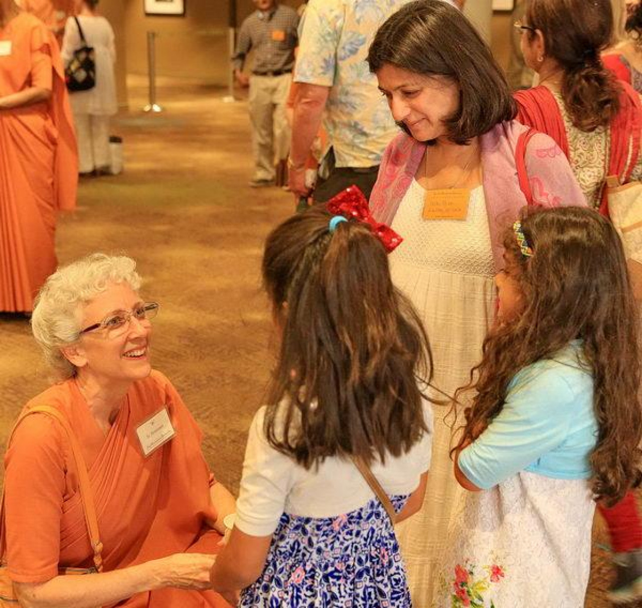 Expand Its Reach - SRF Monastic with Convocation Attendees