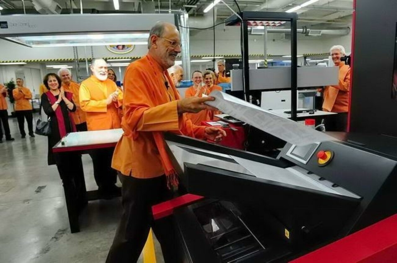 Srf Dedicates New Press And Bindery Equipment 6